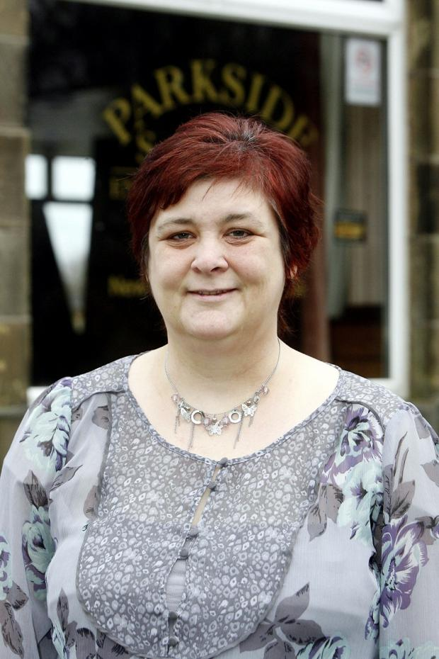 Keighley Shares co-ordinator Shona Grange