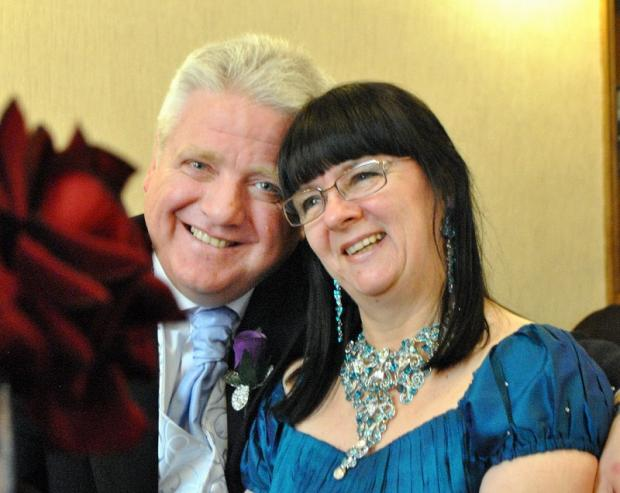 John Dinsdale and Susan Gush married at Bradford Register Office