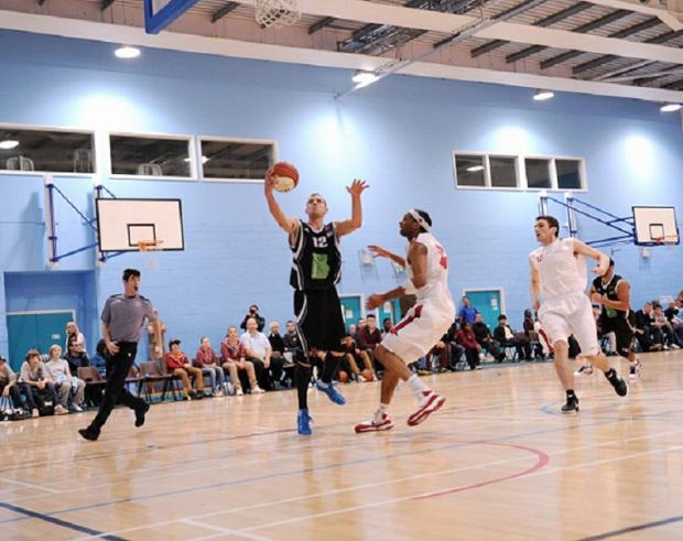 Rihards Sulcs on his way to a season-high 35 points for Bradford Dragons. Picture: Claire Epton