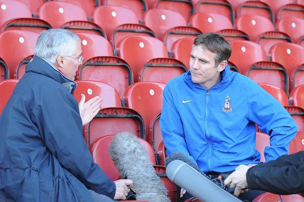 Phil Parkinson will take his players to look round Wembley the day before the final