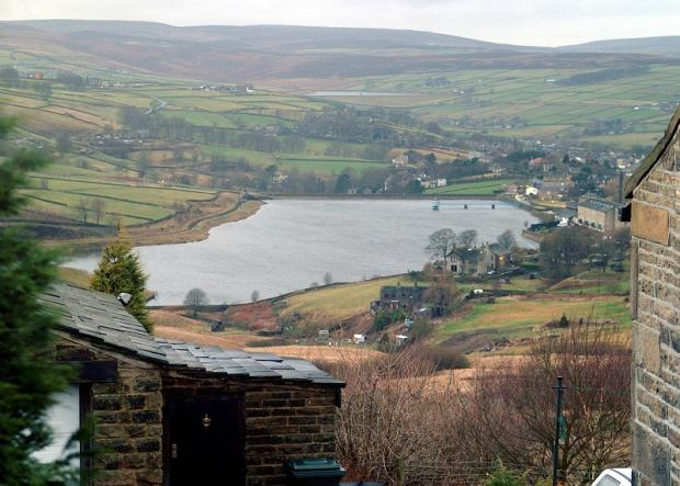 Leeming Reservoir at Oxenhope