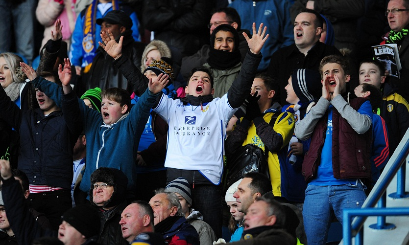 Leeds United fans haven't had much to smile about recently but tonight was different, despite them wasting several chances