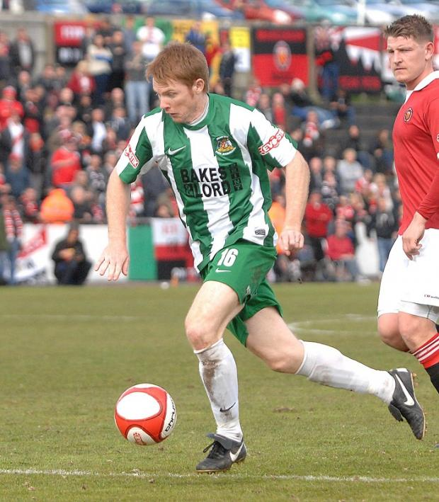 Former captain Rob O'Brien has been loaned from Avenue to Farsley