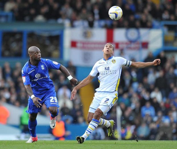Lee Peltier, right, was outstanding against Blackpool says Leeds United manager Neil Warnock