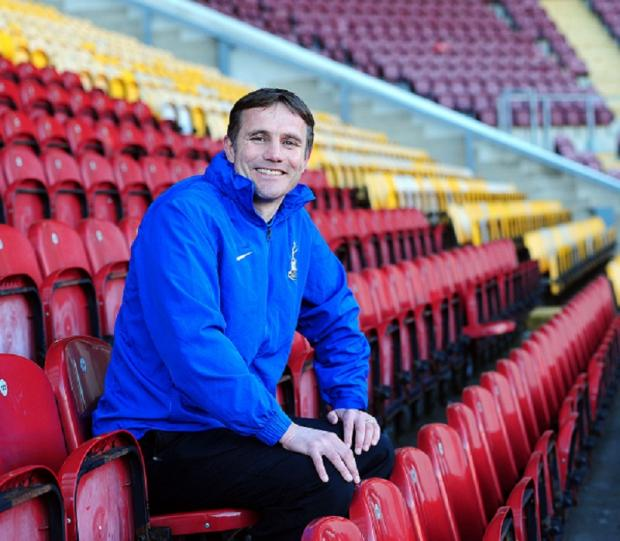 JUST THE BEGINNING: Phil Parkinson wants City's Wembley final exploits to be the foundation of a longer-term success story like the one achieved by opponents Swansea
