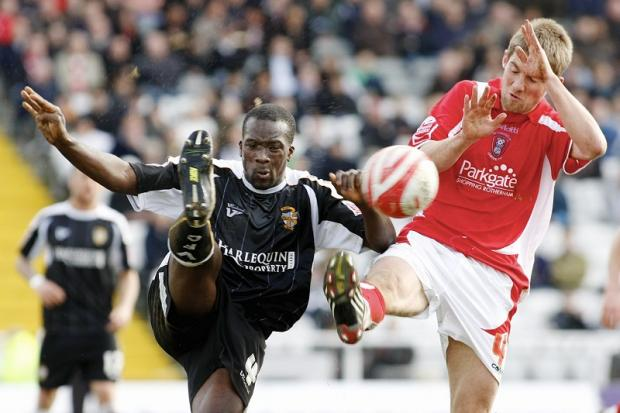 Anthony Griffith has returned to Port Vale on loan from Leyton Orient and is likely to go straight into the team to face City