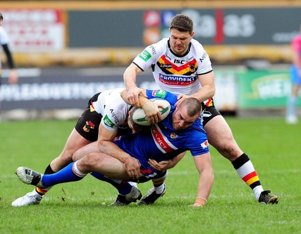 Matt Diskin's fitness will be assessed closer to the game at Widnes