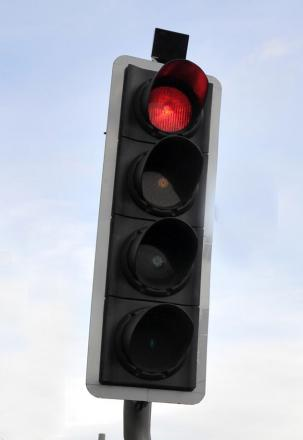 A traffic light fault caused congestion