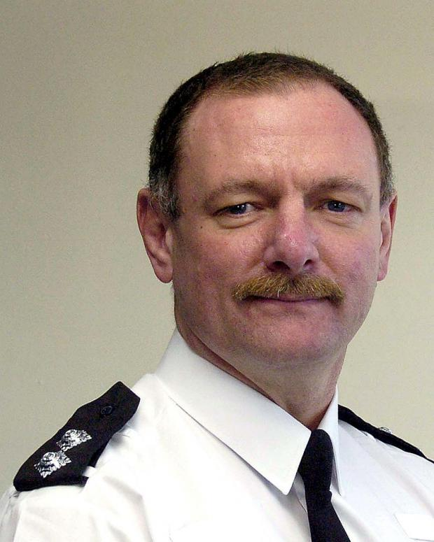 Inspector Peter Tuff, of Eccleshill Neighbourhood Policing Team