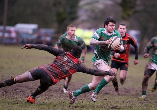 Fly half Tom Barrett was an influential figure for Wharfedale. Picture: Stephen Garnett