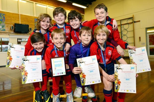 Eldwick Primary School's Year Six boys' soccer team are one tournament away from a Wembley appearance