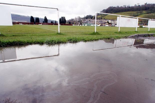 Steeton's cup tie against Oxenhope Recreation was postponed due to a waterlogged pitch