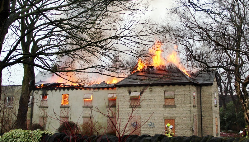 The Knoll Nursing Home had become a magnet for arsonists. After extensive re-development work, it will reopen as a children's day nursery next moth
