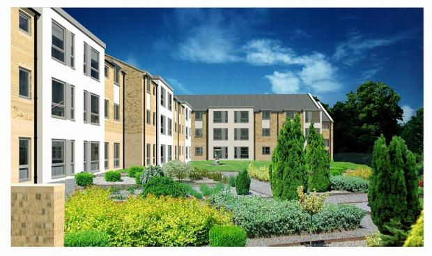 How the finished extra-care home complex will look
