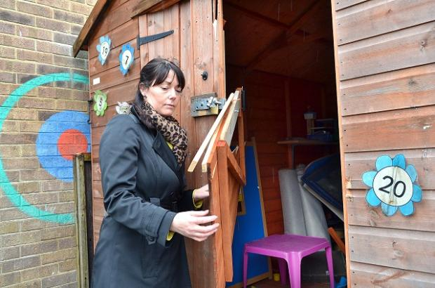 Wilsden Primary School deputy head Marie Blakeley-Broadbent