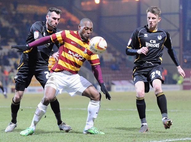 Bradford Telegraph and Argus: Phil Parkinson will assess the fitness of winger Kyel Reid before naming his side to take on promotion rivals Rotherham