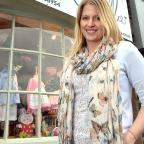 Christine Asher outside her Ilkley children's shop Herbert & Stella