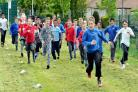 Pupils at Grove House School, Bradford, held a sponsored run/walk to raise funds for the school and their twinned school in Gambia