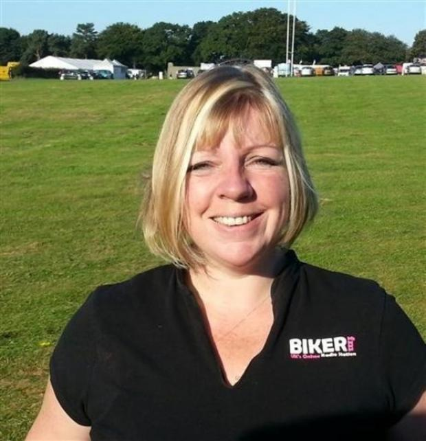 Gail Richards of Biker FM