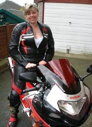 Bingley mum-of-one Gail Richards, who died in a motorbike collision last May