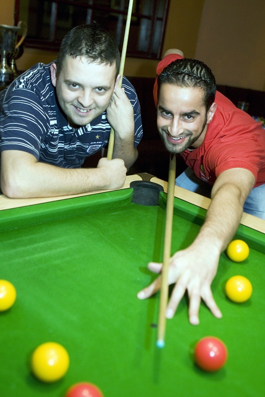 Keighley contenders Chris Melling and Arfan Dad
