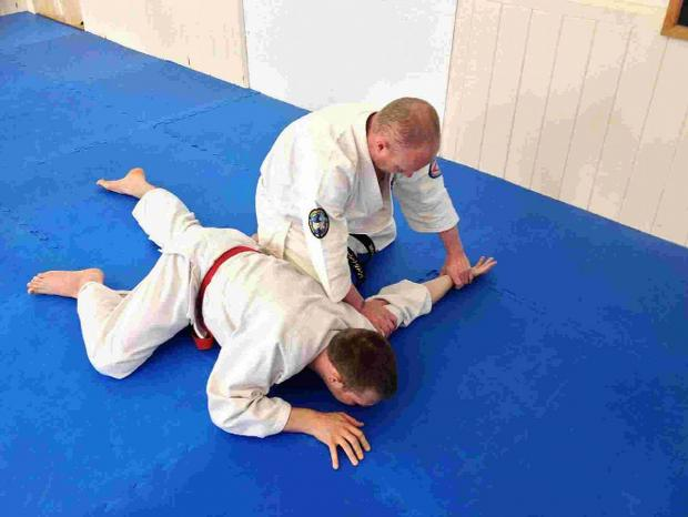 Special guest appearance at Keighley and Bingley Aikido Club