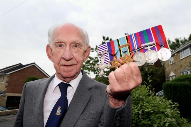 Former RAF bomber crew member Harry Harris is featured in a new book  about the Second World War