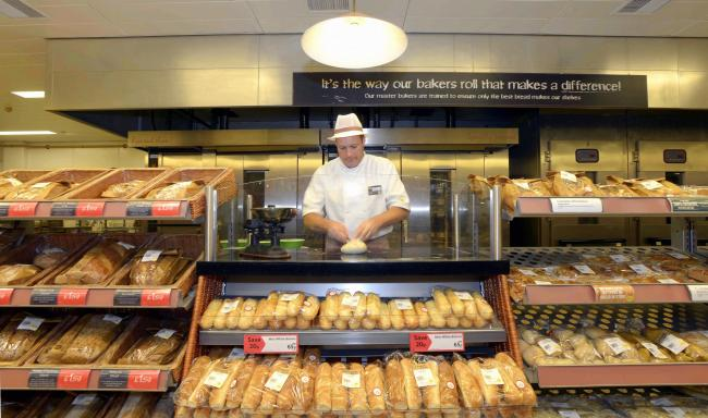 Five Lane Ends store bakery manager Carl Smith who hails the investment in the skills academy