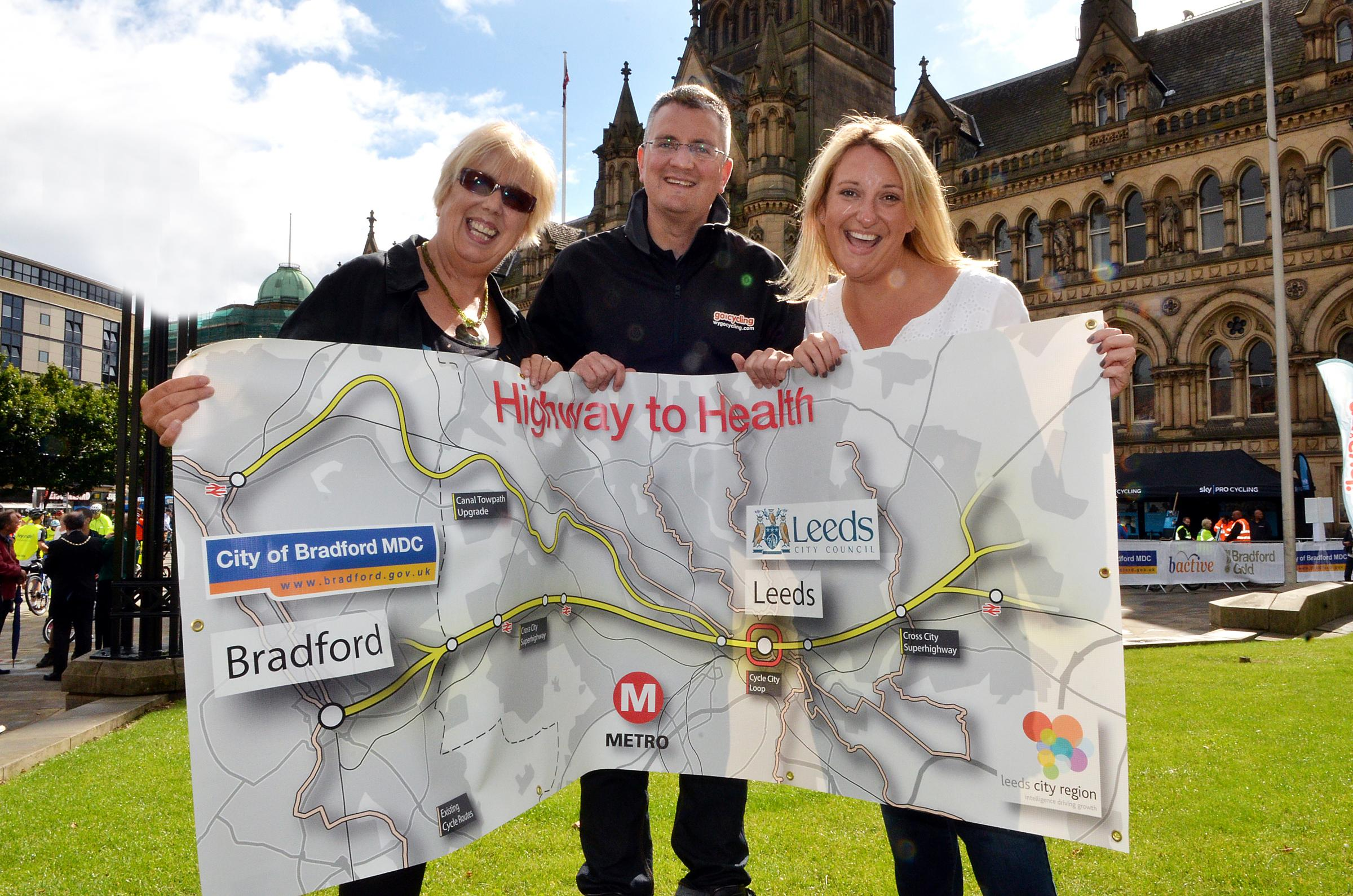 £29 million 'Highway To Health' cycling road scheme announced