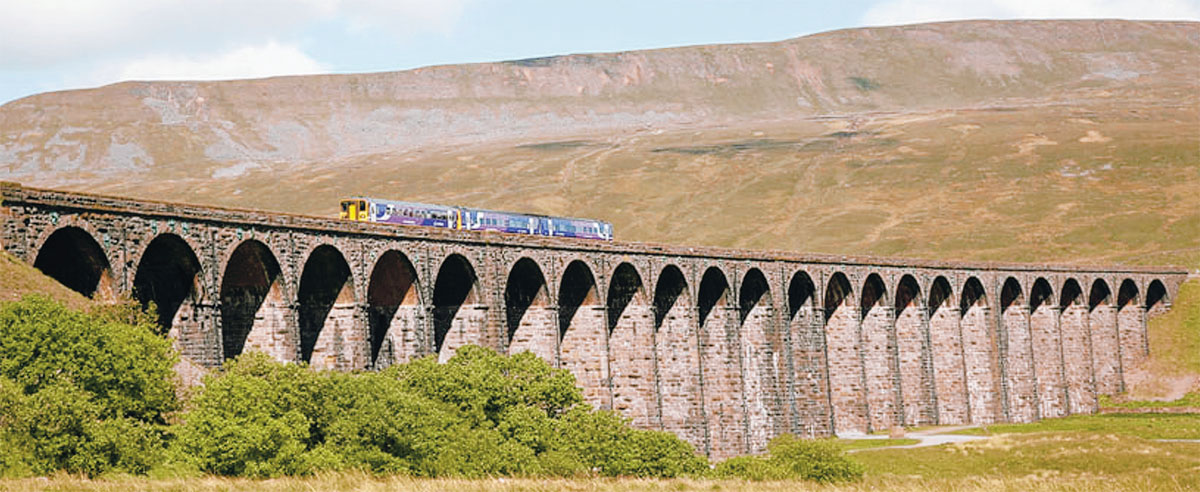When Settle Carlisle railway was on the line