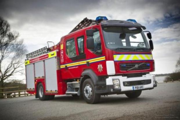 Bradford Telegraph and Argus: Fire crews rescue girltrapped in Keighley car