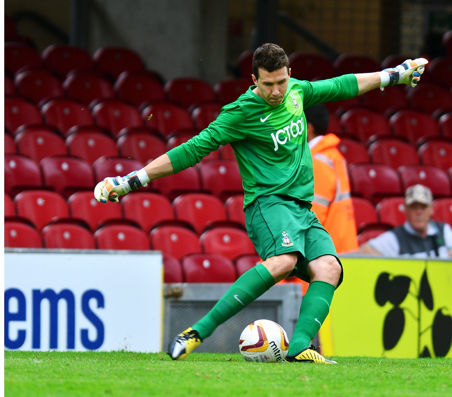 HAPPY DAYS: Jon McLaughlin is enjoying his football more than ever