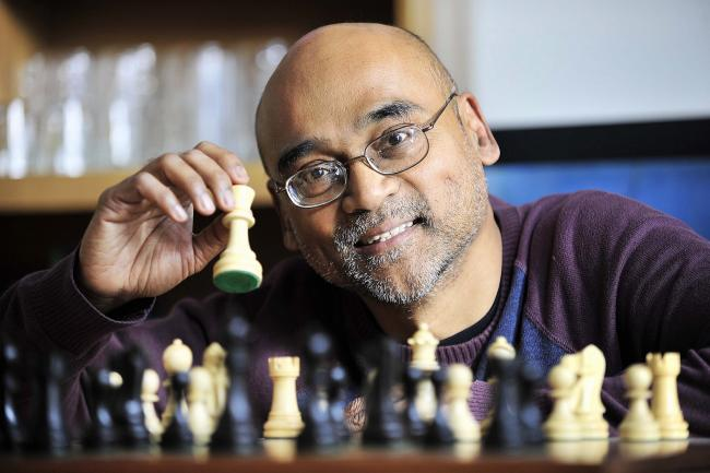 Chess enthusiast Winston Williams is keen to promote the game in schools and communities