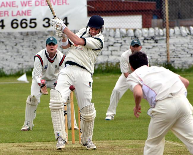Undercliffe skipper Ben Heritage completed 1,000 runs for the season