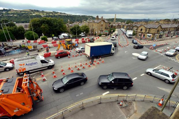 Works on road in Saltaire 'may end before Christmas' say traders