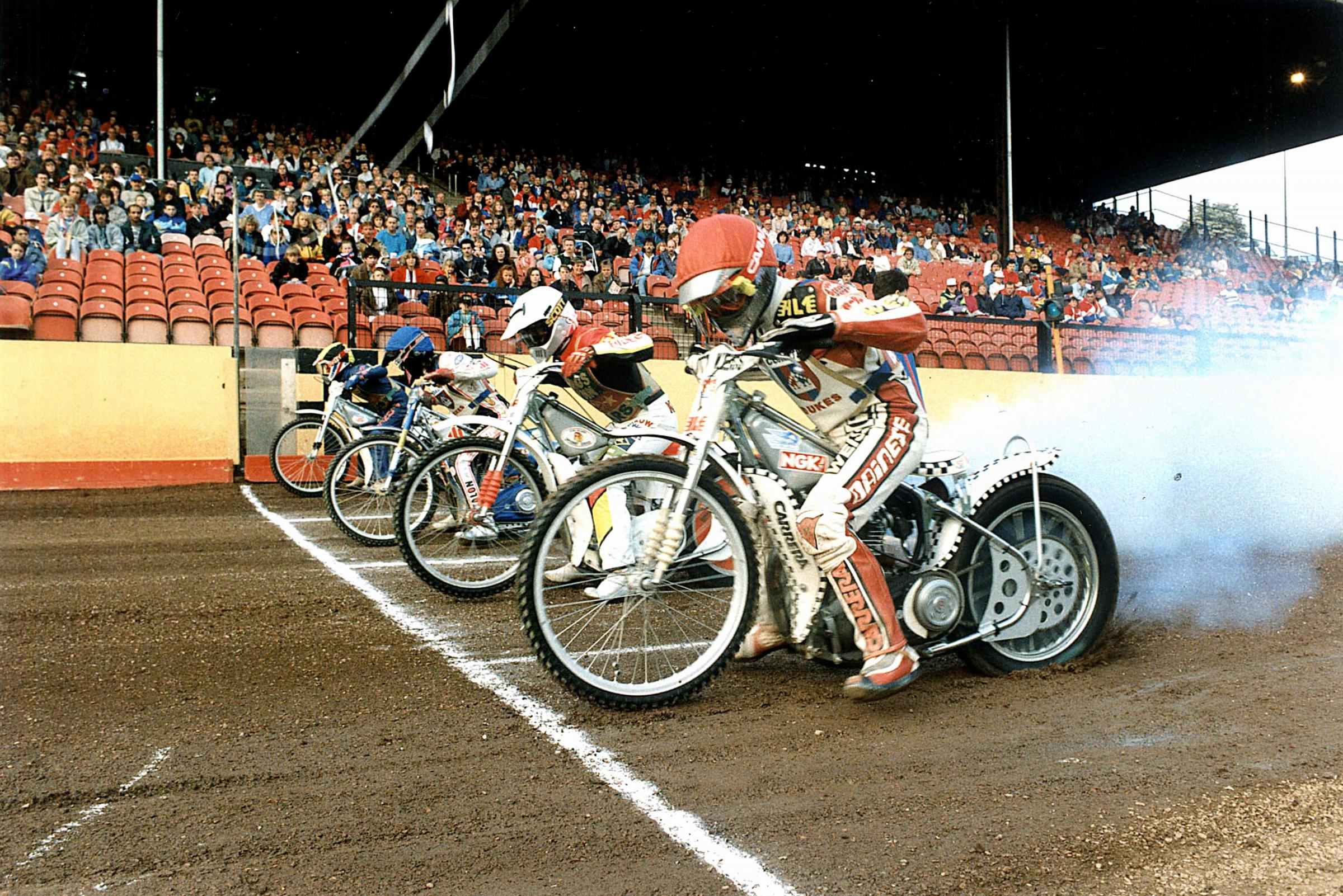 Bradford speedway at Odsal in its heyday