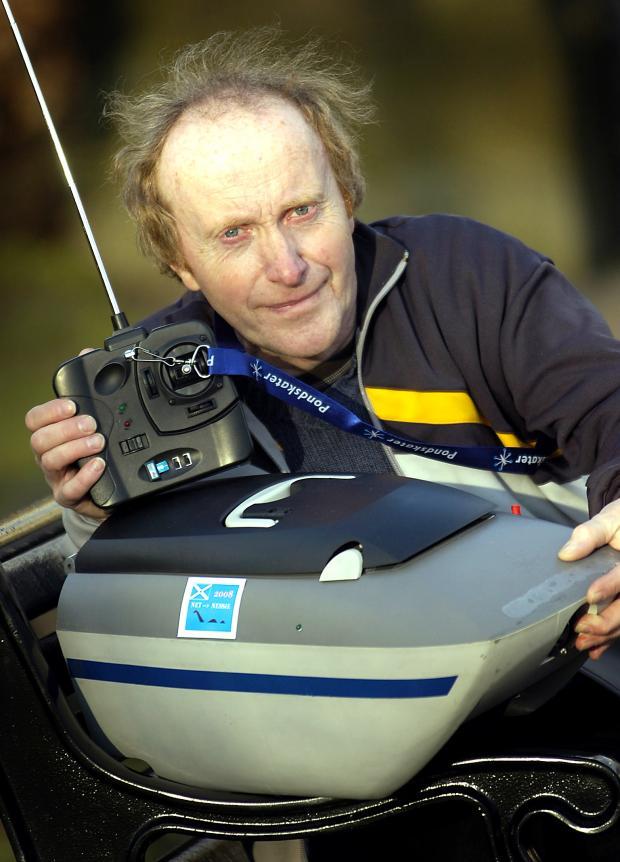 Loch Ness monster expert Gordon Holmes