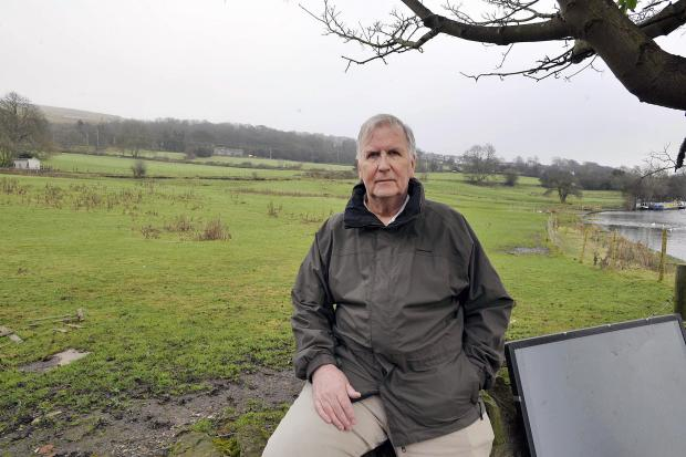 Terry Brown of the Greenhill Action Group at the Sty Lane site