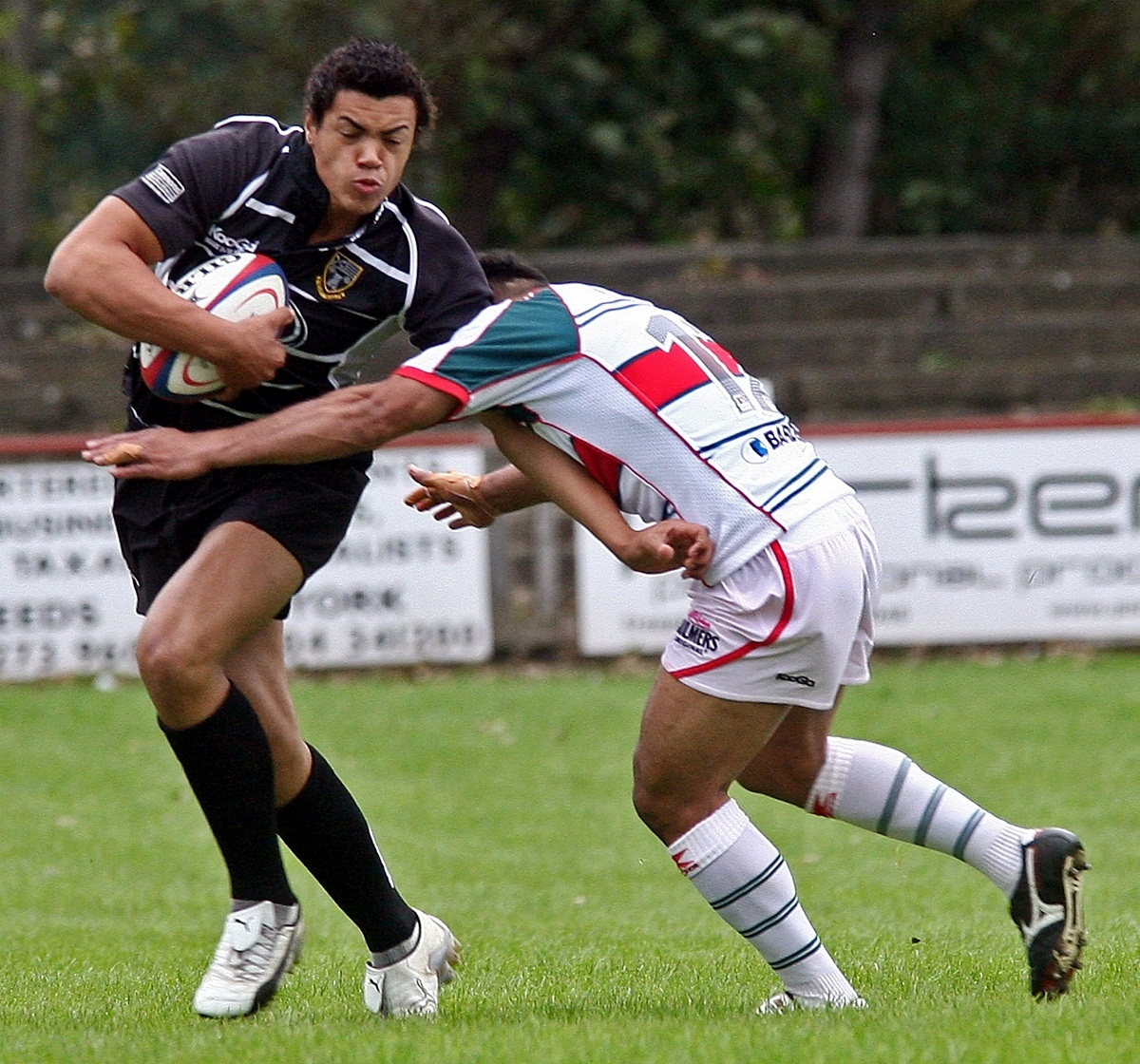 Luther Burrell, pictured playing for Otley in 2009, has been brought into the England squad as injury cover