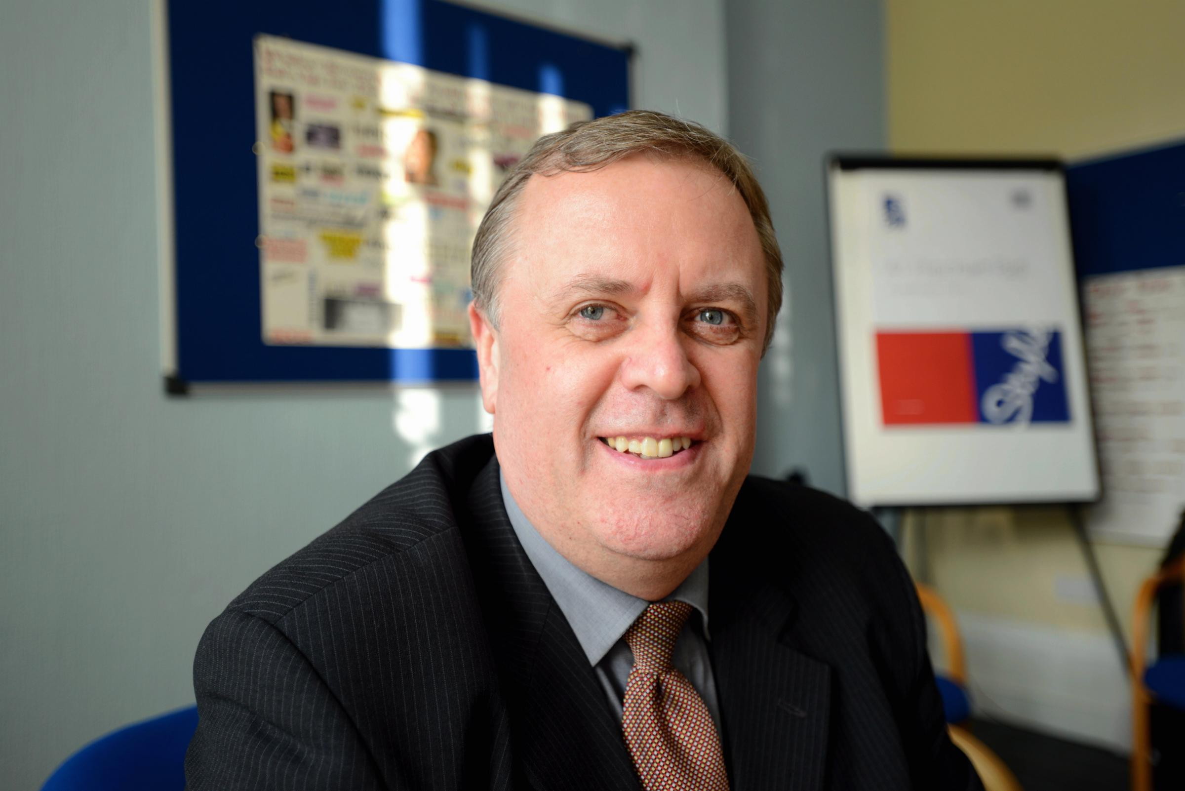 Police and Crime Commissioner Mark Burns-Williamson