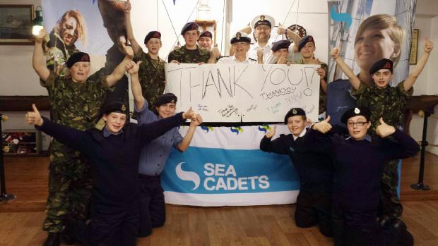 The Sea Cadets celebrate