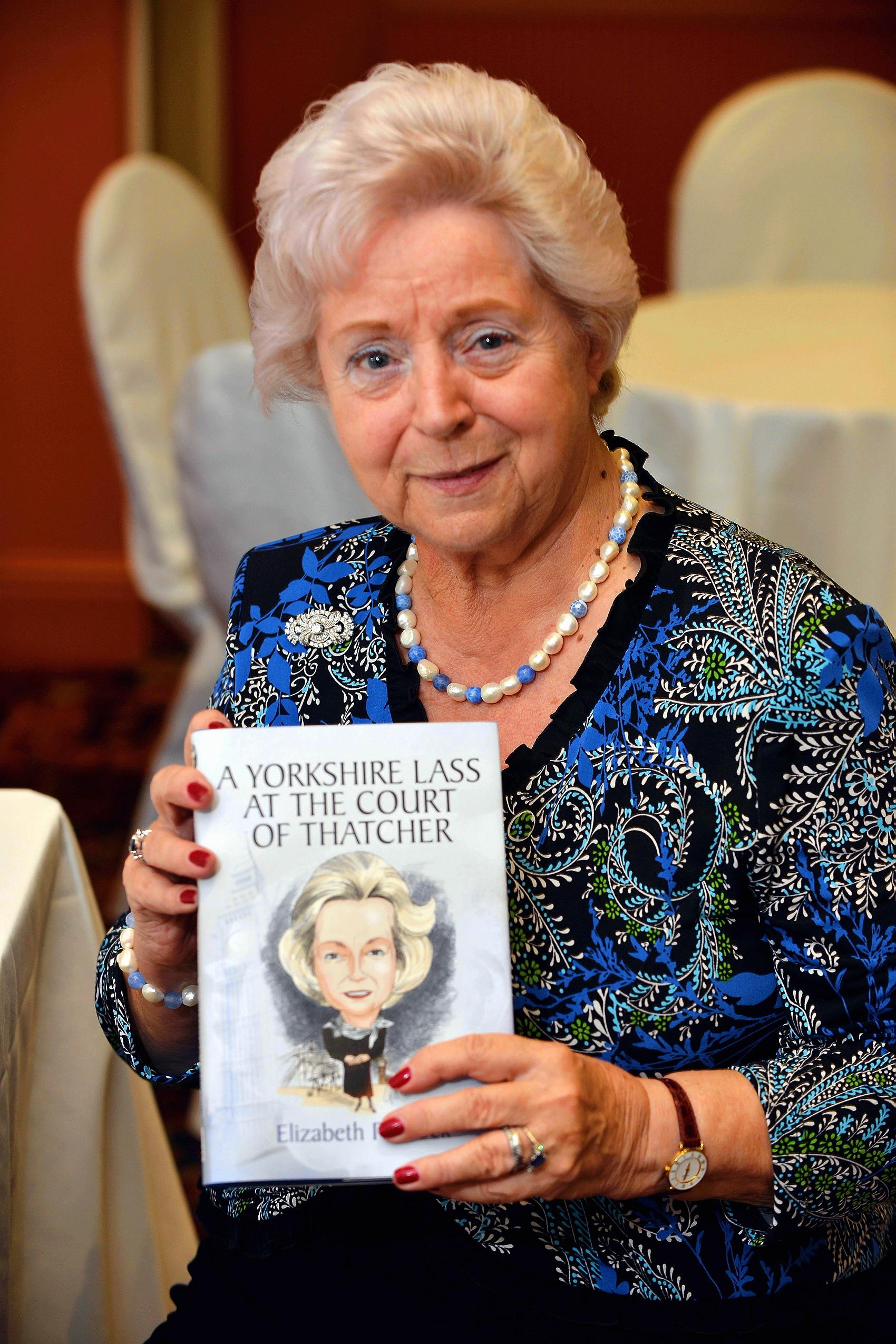 Elizabeth Peacock Book launch for former MP Elizabeth Peacock From Bradford Telegraph