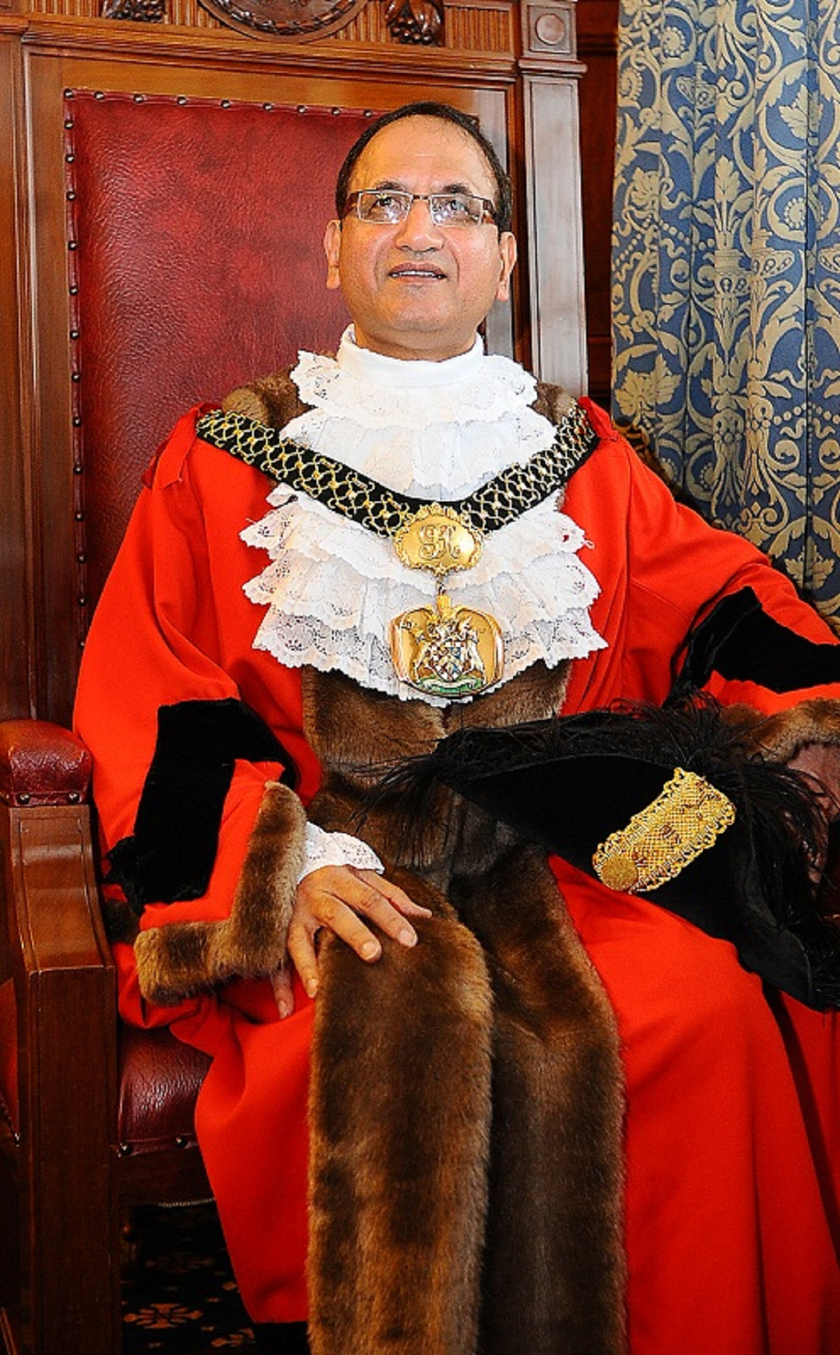 The Lord Mayor of Bradford, Councillor Khadim Hus