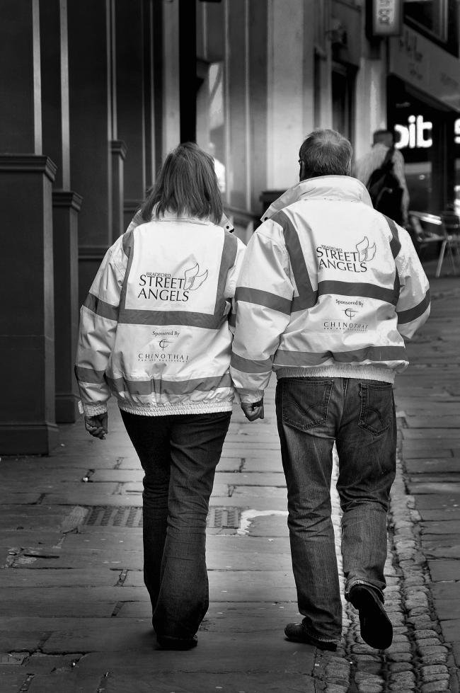 Street Angels in the city centre will be joined by workers in the Drugs Intervention Programme