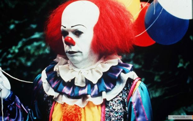 Not the Bradford clown, but rather Tim Curry in the TV adaptation of Stephen King's novel