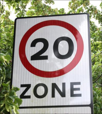 Have a say on 20mph limit move