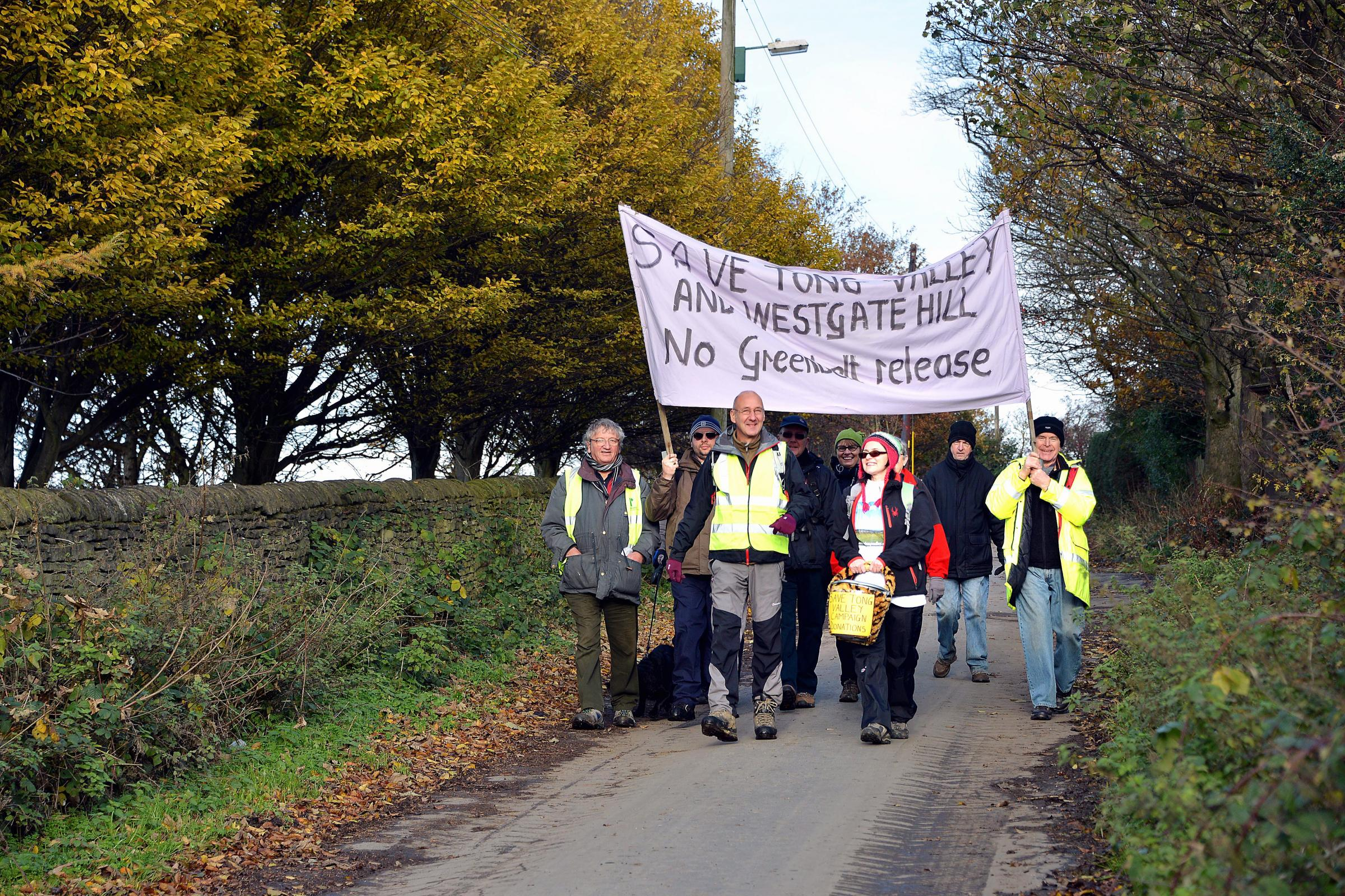 Campaigners highlight the impact of proposed developments