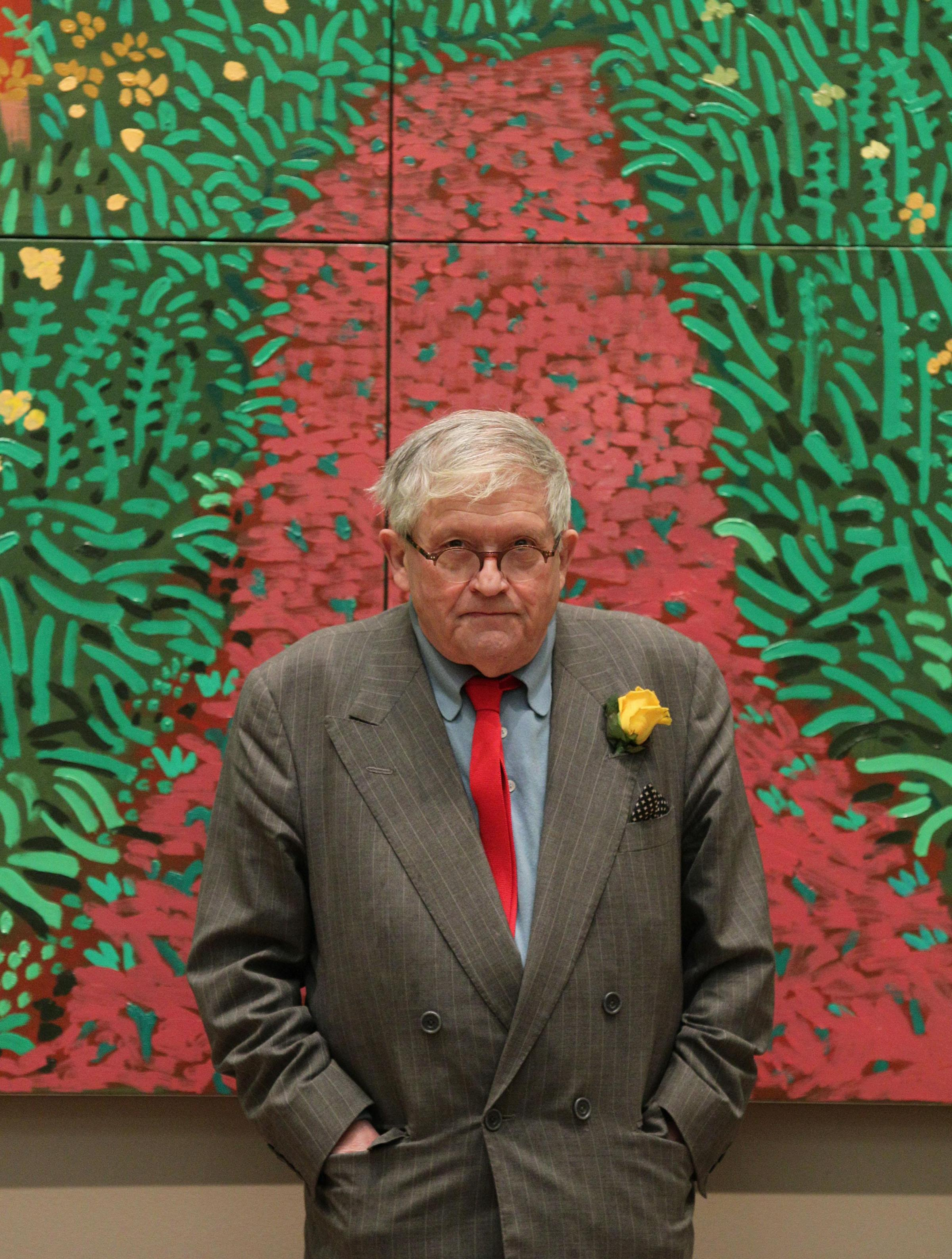 Hockney tells of his dismay at proposal to sell of Bradford's art treasures