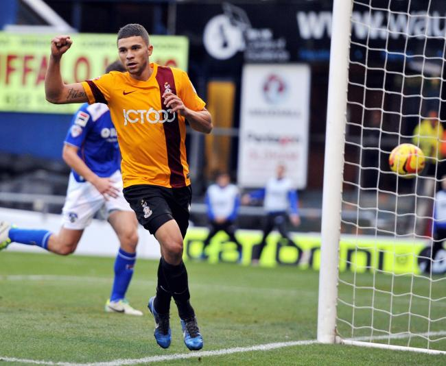 Much-coveted striker Nahki Wells was in goal-scoring form against Oldham at the weekend