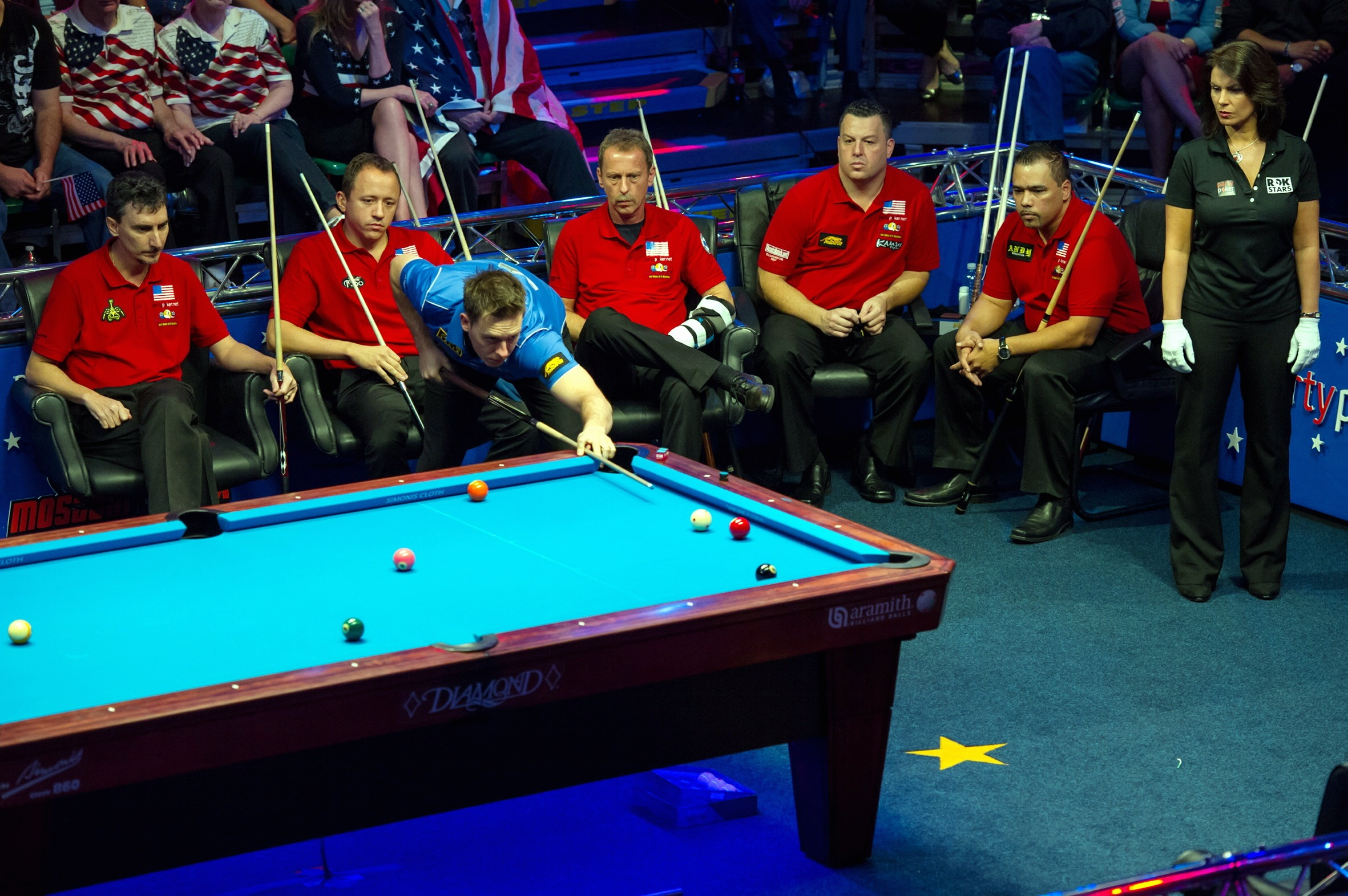 UPDATED: Karl Boyes on target for Mosconi Cup glory | Bradford ...